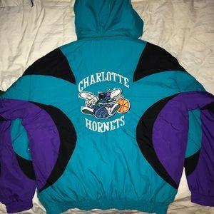 Throwback Vintage Charlotte Hornets NBA Jacket